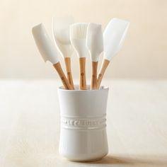 Le Creuset Silicone Tool Set, White