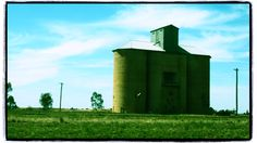 Available for purchase from Red Bubble: http://www.redbubble.com/people/cyn75/works/14200094-by-the-tracks #newsouthwales #country #australia #town #silo #railway #railroad #travel #summer