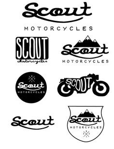 logo design by parker lichfield       ~Scout Motorcycles~