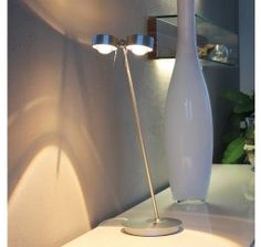 Top Light Tischleuchte Puk 2-flammig