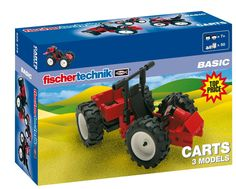 Fischertechnik Basic Carts: Amazon.co.uk: Toys & Games