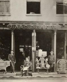 circa 1886, N.E Corner of Green St. and Norton St.