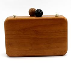 Wooden Clutch //Price: $51.99 & FREE Shipping //     #woodenaccessories