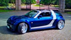 Smart Roadster Coupe, Smart Car, Modified Cars, Jaguar, Cars And Motorcycles, Cool Cars, Vehicles, Life Hacks, Garage