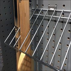 Pegboard-Mount Hockey Stick Dividers