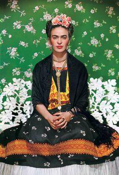 """""""Mirror, Mirror ... Portraits of Frida Kahlo"""" [Espelho, Espelho... Retratos de Frida Kahlo], no Harn Museum of Art, na Universidade da Flórida (EUA)"""