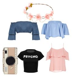 """""""summer is coming"""" by marianna-xrisafi on Polyvore featuring BB Dakota, WearAll and Kate Spade"""