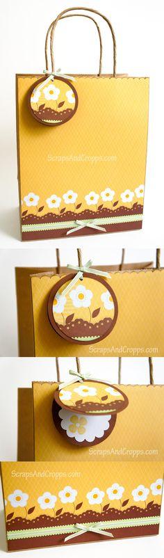 DIY Kraft Paper Gift Bag