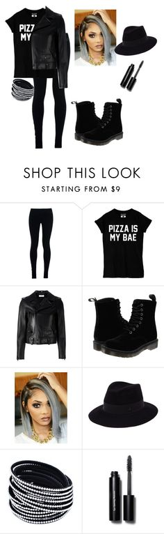 """""""At The End of The World #Veridia"""" by vireheart ❤ liked on Polyvore featuring NIKE, Yves Saint Laurent, Dr. Martens, Maison Michel and Bobbi Brown Cosmetics"""