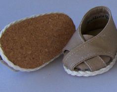 Twill Cross-Toe Shoes - Khaki