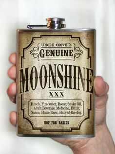 Nice Moonshine label!