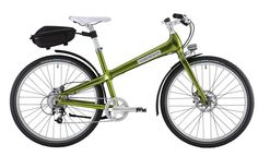 Silverback's Starke city bikes charge your gadgets, firm your thighs.  Brilliant!