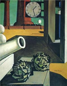 Giorgio de Chirico (1888 - 1978) |  Metaphysical Art | The Conquest of the Philosopher - 1914