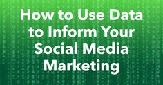 Social media marketing has a bad rap because it is not seen as directly tied to revenue. However, collecting accurate data can help dispel this myth.