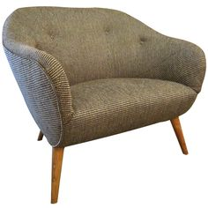Swedish Modern Barrel Back Lounge Chair
