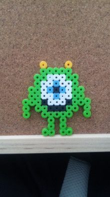 Mike Monsters Inc. perler beads