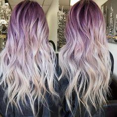 beautiful+purple+hair+color
