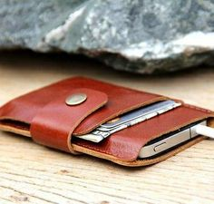 wallet and iPhone holder