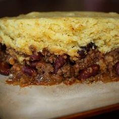 Slow Cooker Tamale Pie from Allrecipes. http://punchfork.com/recipe/Slow-Cooker-Tamale-Pie-Allrecipes
