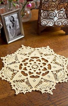 Ravelry: Starshine Doily pattern by Kathryn White