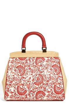 Tory Burch 'Attersee - Fall Runway 2013 ' Satchel, Large | Nordstrom- wonder if I can make a similar one myself????