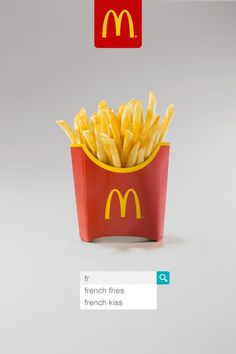 商品と検索ボックスだけでブランディング。マクドナルドにしかできない広告表現とは!?   AdGang