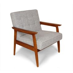 dCOR design Adrian Arm Chair. Did you say you ended up with the Danish Modern armchairs?