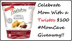 Celebrate Your Mama With a Twistos Mom Cave #Giveaway! Canada, ends 5/24 #spon