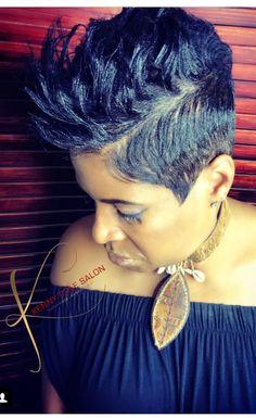 Hairstyles : Nice Pixie Natural Hair Cut Short Styles For Short Sassy Haircuts, Cute Hairstyles For Short Hair, Short Hair Cuts, Pixie Cuts, Pixie Natural Hair, Natural Hair Styles, Mohawk Hairstyles, My Hairstyle, Love Hair