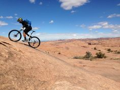 Not all Moab Rides required legs of steel to ascend steep grades (photo: Ben Robator)