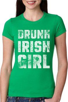 TooLoud Kiss Me Im Pretending to Be Irish Dark Muscle Shirt