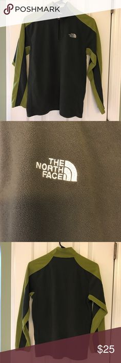 Kids/boys North Face fleece Gently used excellent condition boys North Face 1/4 zip fleece. Great for layering!  Boys large .    Nonsmoking **** The North Face Other