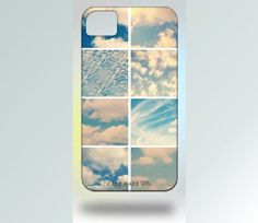 Custom iPhone 4 Case Instagram Clouds Blue by Gallery32Photography, $35.00