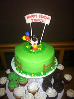 Cake I made for my husband