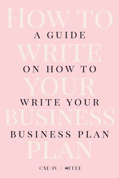 The Business Plan That Always Works  Business Planning