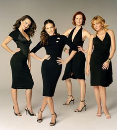 SATC girls. No matter what these ladies made a difference in how women live their lives. Girl power!