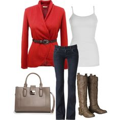 """Fall Sweater"" by achristie on Polyvore"