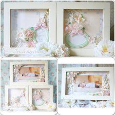 Я сегодня «колдую» для маленькой #принцессы… сладкая #ваниль, немного #мяты, бутонов #роз, #орхидеи цимбидиум,  #ранункулюса, нежные цветочки #гардении, несколько веточек сладких ягод, #ангелочки, #бабочки и паутина #кружев… сплелись в #триптих для уютной #детской комнаты Машеньки. Центральная #рама для фото, 1 рамочка для фото с #метрикой, и 1 рама для фото и первой пустышки малышки. Рамы настенные, можно вешать по отдельности или создавая композицию.
