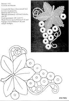 Best 12 Photo from album romanian point lace on – SkillOfKing. Crochet Leaf Patterns, Bobbin Lace Patterns, Crochet Leaves, Crochet Diagram, Crochet Designs, Crochet Flowers, Embroidery Patterns, Crochet Unique, Crochet Art