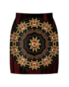 Vividly - Stars and Floral Skirt, $54.00 (http://vividly.co/stars-and-floral-skirt/)