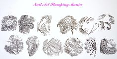 Nail Art Stamping Mania: New Acrylic Stamping Plate from Cici&Sisi…