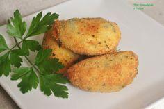 Aprendiendo a cocinar: CROQUETAS DE PATATA Y JAMÓN