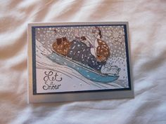 Homemade Cards, Christmas Cards, Art, Xmas Cards, Craft Art, Diy Cards, Kunst, Christmas Greetings, Christmas Letters
