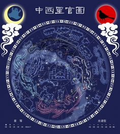 The 28 Chinese constellations Images & Pictures Gallery