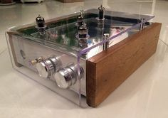Amplificateur à tubes OTL, entrée bluetooth, pour casque