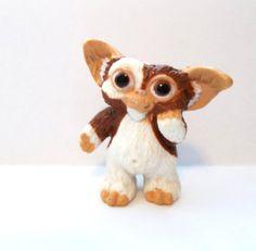 1980s Gremlins Gizmo Miniature Toy Figurine  by PopCulturelle