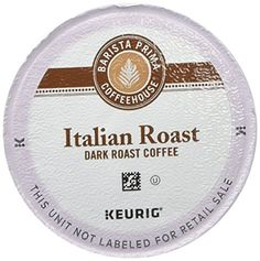 Barista Prima Coffeehouse Dark Roast Extra Bold KCup for Keurig Brewers Italian Roast Coffee Count of 96 * Continue to the product at the image link. (This is an affiliate link) #CoffeeDrinks