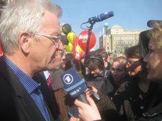 Winfried Kretschmann bei einer Anti-AKW-Demo
