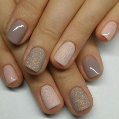 nail designs 2019 nail designs for short nails step by step holiday nail stickers nail art stickers at home essie nail stickers nail art design galleryshort nail designs 2019 self adhesive nail stickers nail art stickers at home nail art strips Pink Nails, Glitter Nails, Grey Gel Nails, Pink Sparkle Nails, Gel Toe Nails, Taupe Nails, Shellac Nail Colors, Pink Sparkles, Gold Nail