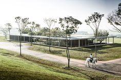 Fazenda Boa Vista: Equestrian Centre Clubhouse by Isay Weinfeld | http://www.yellowtrace.com.au/isay-weinfeld-fazenda-boa-vista-equestrian-clubhouse/